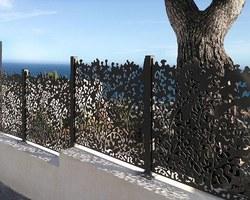 Les Terrasses d'Eden - ST CERGUES - Treillages et jardinières