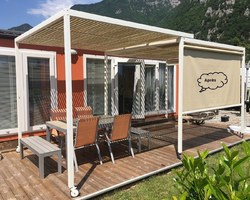 Les Terrasses d'Eden - ST CERGUES - NOS PARTENAIRES - Les réalisations - Aménagement mobil-home