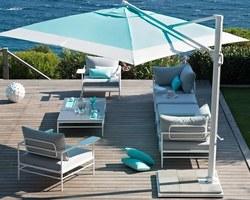Les Terrasses d'Eden - ST CERGUES - LE MOBILIER - Nos parasols / Voile d'ombrage