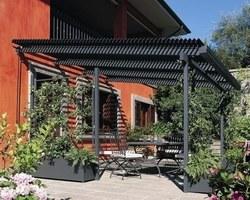 Les Terrasses d'Eden - ST CERGUES - LES PERGOLAS - Pergola en aluminium